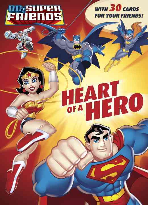 Heart of a Hero Color Plus Card Stock By Carbone, Courtney/ Golden Books Publishing Company (COR)